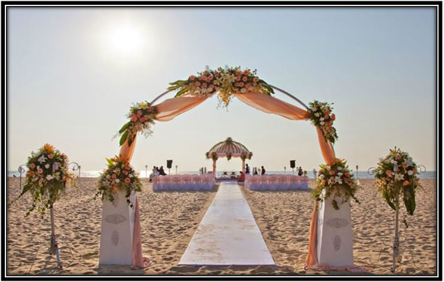 Goa - A Perfect Spot for a Beach-y Wedding!!