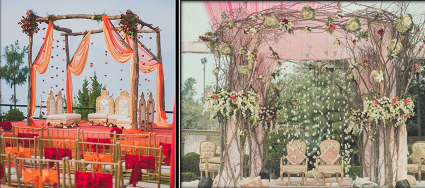 Twigs In Mandap